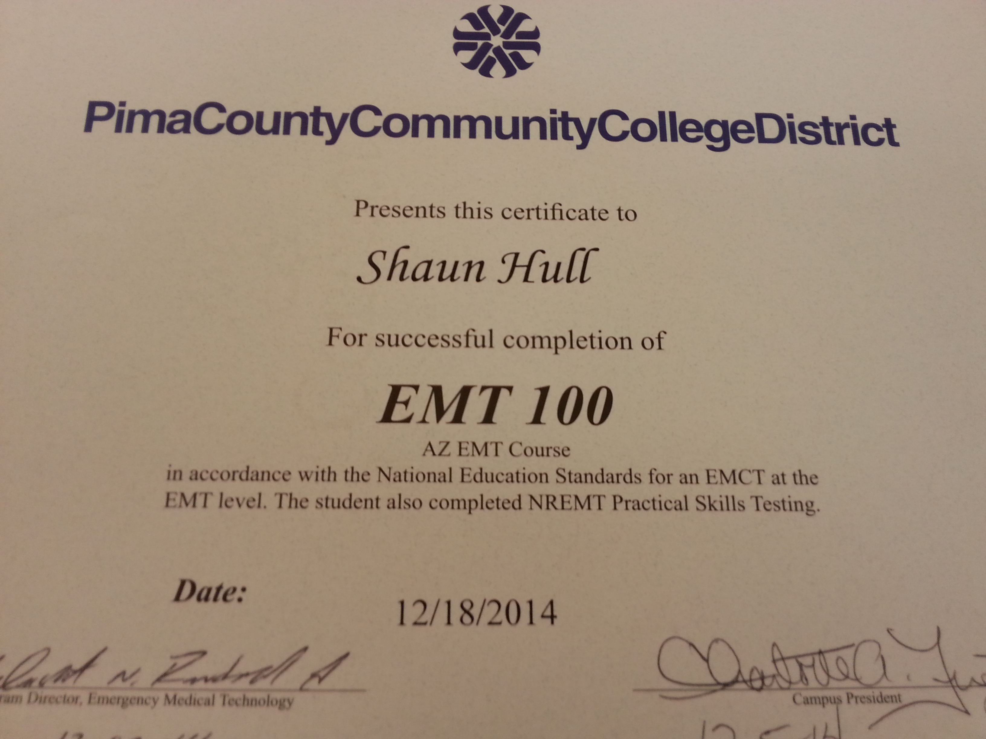 Emt this nerd is on fire ive completed my emt course i just have to schedule and destroy the nremt exam and ill be a certified emt xflitez Choice Image